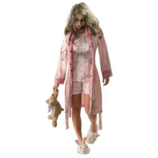 Halloween Costumes The Walking Dead   Pajama Zombie Teen Costume