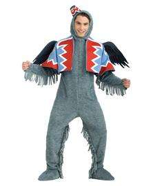 home adult costumes animal flying monkey costume
