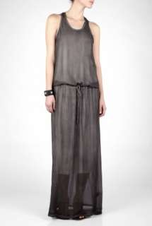 IAN R.N.  Pigment Chiffon Sleeveless Full Length Dress by IAN R.N.