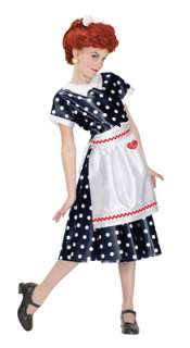 Love Lucy Polka Dot Dress Child Costume for Halloween   Pure