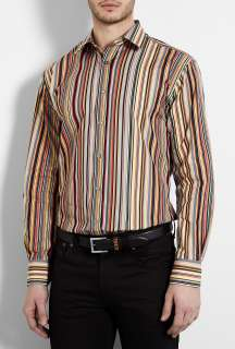 Paul Smith London  Vintage Signature Multistripe Shirt by Paul Smith