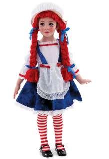 Yarn Babies Rag Doll Girl Child Costume     1617677