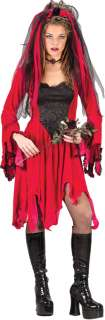Adult Sexy Devil Bride Costume   Gothic Halloween Costumes   15FW5144