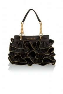 Love Moschino  Zip Frilled Bag by Love Moschino