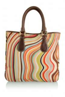 Frankie Swirl Canvas Tote by Paul Smith Accessories   Multicoloured