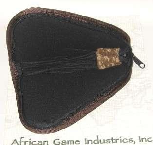 Genuine Suede Leather HANDGUN / PISTOL CASE 7 x 5 NEW
