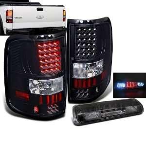 Eautolights 04 08 Ford F150 LED Tail Lights + Smoke LED 3