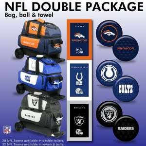 NFL Bowling Ball/Double Roller Bag/Towel Package  20 Teams