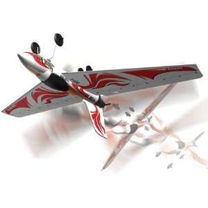 Silverlit Stunt King 3CH RC RTF Radio Control Airplane: Toys & Games