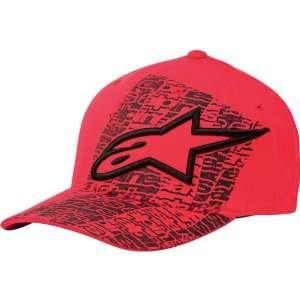 Alpinestars Develop Mens Flexfit Race Wear Hat/Cap   Red