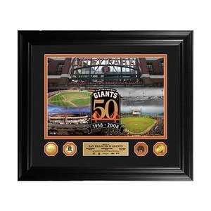Mint San Francisco Giants 50th Anniversary 24KT Gold Coin Photo Mint