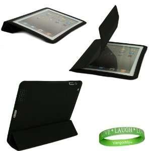 Apple iPad 2 Smart Flap Cover Case 2nd Generation ( Black