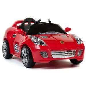 MP KIDS RIDE ON R/C CAR REMOTE CONTROL POWER WHEELS RC red