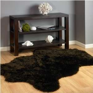 Classic Brown Bear Faux Fur Rug