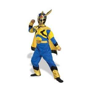 Power Ranger Deluxe Muscle Costume Boys Size 4 6 Toys & Games