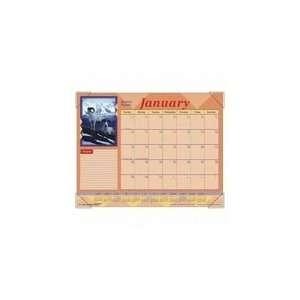 Organizers Animal Series Wildlife Desk Pad Calendar