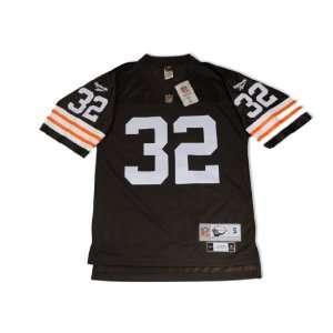 Reebok Cleveland Browns Jim Brown Premier Throwback Jersey