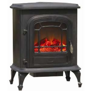 Well Traveled Stowe Electric Fireplace Stove Patio, Lawn & Garden