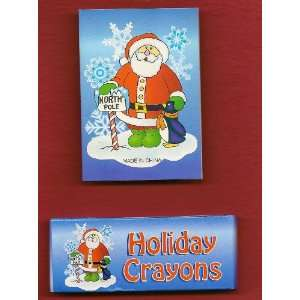 Holiday Crayons with Coloring Book Toys & Games