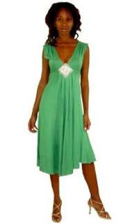 Sweetees Emerald Green Michalle Dress Clothing