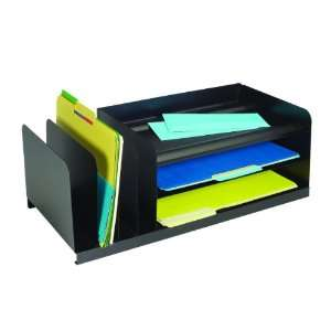 Vertical/Horizontal Combination Desk Organizer, Black (264202004
