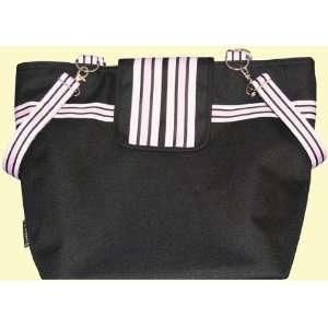Reese Li Cambridge Black Pink Diaper Bag Baby