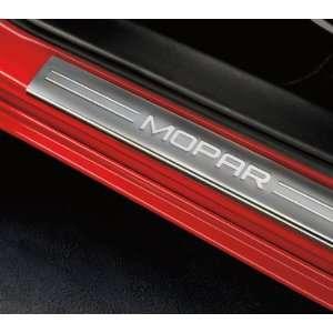 Dodge Charger 2011 2012 Door Sill Protectors Mopar Logo OEM