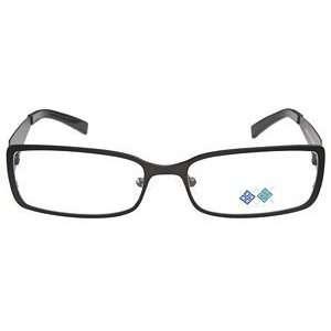 Lane ML803 Black White Silver Eyeglasses