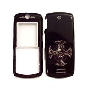 Faceplate Cover Housing Hard Case   Cross Metal Round Mark Everything
