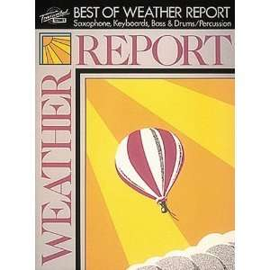 The Best of Weather Report [Paperback] Weather Report Books