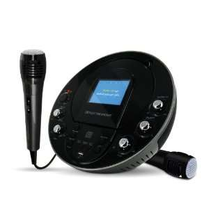 Karaoke CD+G/MP3G Player Speaker System with 3.5 Screen, USB, MP3