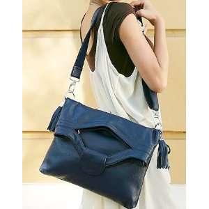 100% Genuine Leather Purse Shoulder Messenger Bag Handbag