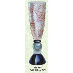 Rosella Trend Vase Hand Blown Modern Glass Vase