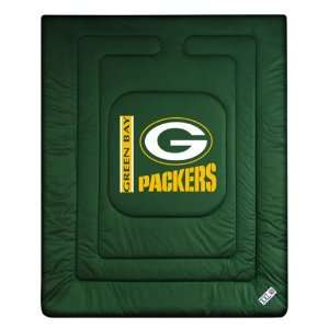 Green Bay Packers Locker Room Full/Queen Bed Comforter (86