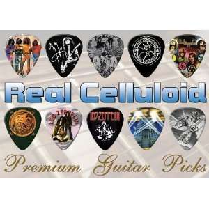 Led Zeppelin Premium Guitar Picks X 10 (C) Musical Instruments