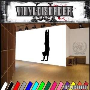 Gymnastics NS005 Vinyl Decal Wall Art Sticker Mural