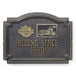 HARLEY DAVIDSON ® Touring Medallion Wall Plaques