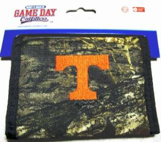 Tennessee Volunteers Officially Licensed Team Logo Camo Bifold Mens
