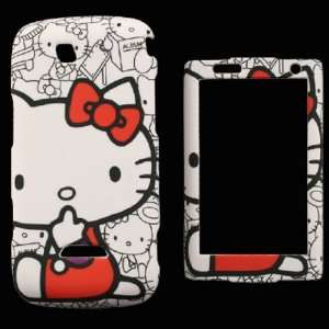 Hello Kitty Cover Skin Faceplate Hard Cell Phones & Accessories