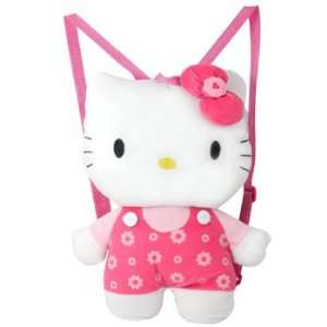 Hello Kitty Plush Pink Backpack Toys & Games