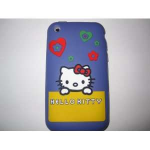 Phone 3G 3GS light weight Shirt Pocket Hello Kitty Silicone Case