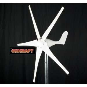 24 Volt 5 Blade Residential Wind Turbine Generator Home Improvement