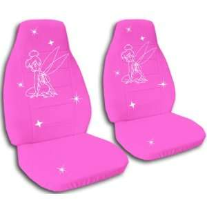 Hot Pink Tinker seat covers for a 2008 to 2009 Chevrolet Malibu