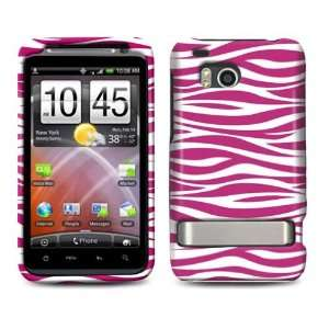 HTC Thunderbolt / Incredible HD Hot Pink Zebra Design
