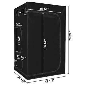 Grow Tent 48x48x78in Hydroponic Grow Tent w/ Window