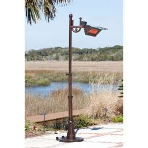 Traveled 1500 Watt Infrared Patio Heater (60802) Patio, Lawn & Garden