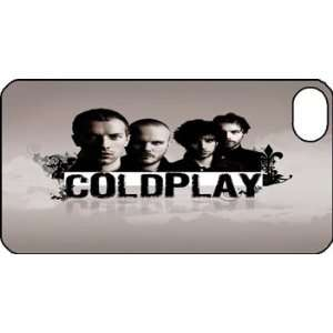 Coldplay iPhone 4s iPhone4s Black Designer Hard Case Cover