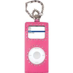 Leather Case for iPod nano 1G, 2G (Pink)  Players & Accessories