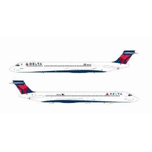 Jet X 200 Delta Airlines MD 90 N901DA Model Airplane