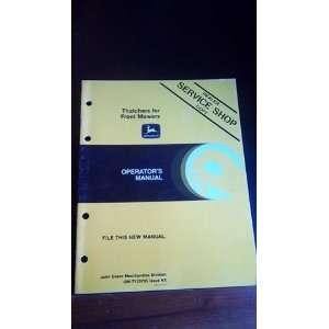 John Deere 3150 tractor operators manual, dealer service